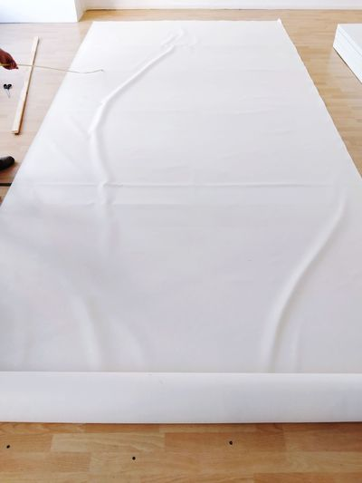 Stuff Roll Rolled Up Creativity Creating Cloth White Color The Way Forward Hands On Canvas Art And Craft EyeEm Selects Hardwood Floor Close-up Parquet Floor Crumpled Paper Wood Laminate Flooring DIY Renovation Whitewashed Home Addition