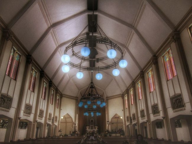 Good morning,good sunday (church) Indoors  Ceiling Illuminated Lighting Equipment Hanging Low Angle View Architecture Arch Hanging Light Electric Light Multi Colored Church Church Time EyeEm Beautiful The Places I've Been Today The Week On Eyem Tranquility Simplicity Vibrant Color Hello World Scenics Beauty Helloworld Architectural Feature