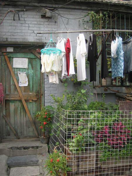 Clothes line Beijing Beijing Scenes Beijing, China Clothes Liner Clothes Line Hutong Hutong Street Tweda