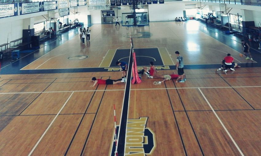 At NU Gymnasium,ready to game.. Nugym NUlandscapes Nuartapp Com151 MRSHANELAONG