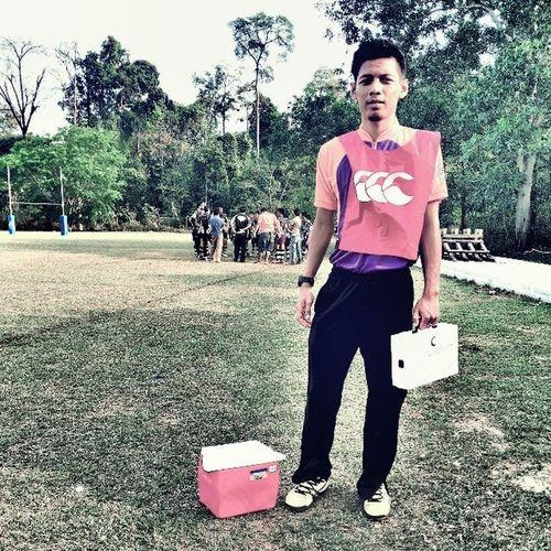 Physio boy LigaRugbyPahang PolisasVsUmp Ceritalama Practical studeng
