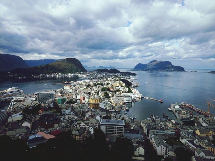 Alesund Norway Norwegen Aida