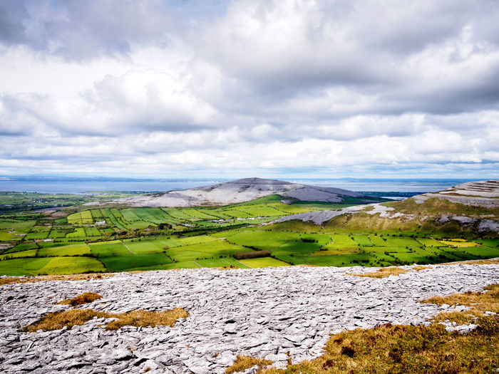 Abbey Hill ⛰ Abbey Hill Beauty In Nature Cloud - Sky County Clare Day Field Grass Green Color Idyllic Ireland Landscape Landscapes Mountain Nature No People Non-urban Scene Outdoors Rural Scene Scenics Sky The Burren Tranquil Scene Tranquility Turlough Hill The Great Outdoors - 2017 EyeEm Awards Lost In The Landscape