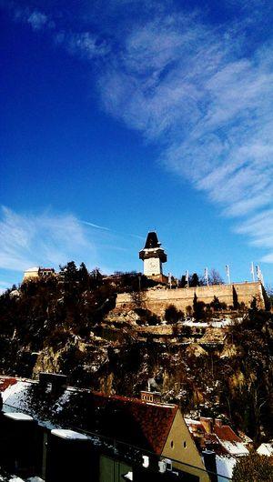 Graz Steiermark Styria Austria Austrianphotographers Österreich Schlossberg Uhrturm Grazer Uhrturm