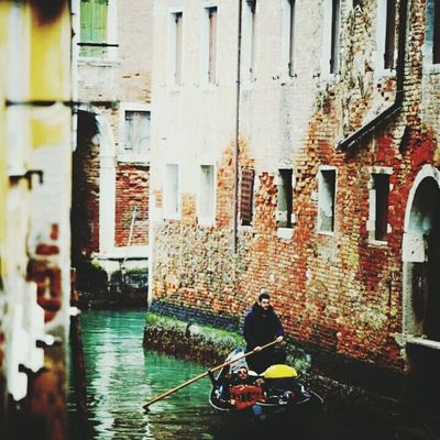 2012 Venezia Travelling Winter Collection Gondole In Venice Watercity Multi Colored Missing You Potography OpenEdit