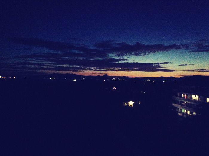 Night fall batangas city