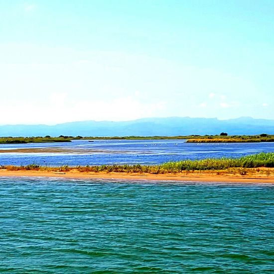 Water Sea Scenics Nature Tranquility Sky Beauty In Nature Tranquil Scene Horizon Over Water Outdoors Day Water Color Water_collection UnderSea Summer Time  Summer Views Summer ☀ Summerdays  Delta Del Ebro Delta