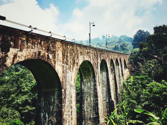 Penang Hill Railway Track Nice Panorama VSCO Sky Architecture Built Structure Cloud - Sky Arch Nature Building Exterior Bridge History Low Angle View Building First Eyeem Photo EyeEmNewHere A New Beginning