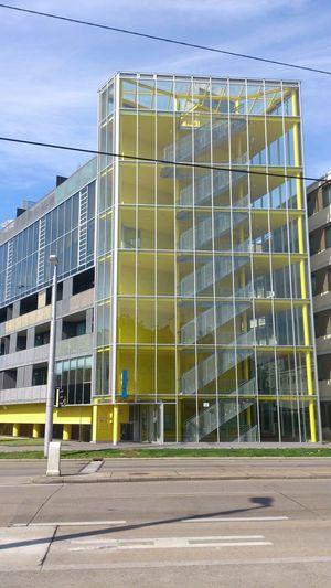 Architecture Yellow Gebäude Mai 2014