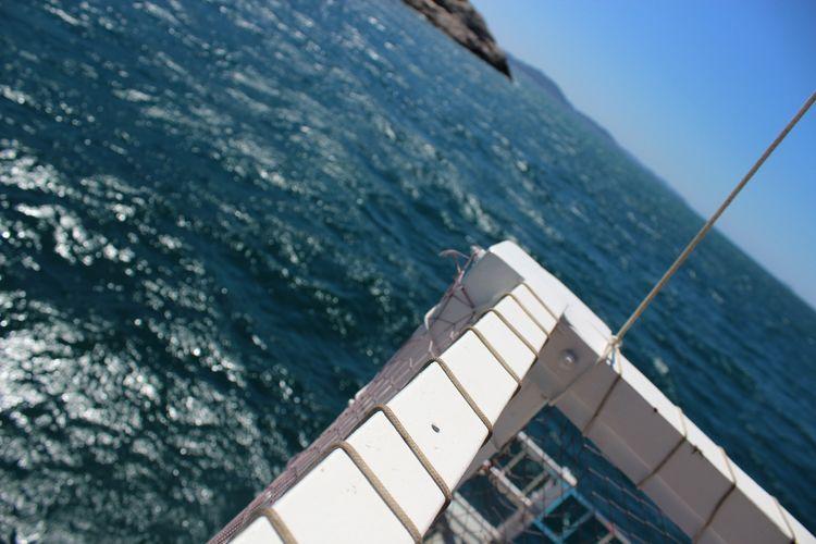 EyeEm Selects Water Nautical Vessel Sailing Ship Sea Yachting Boat Deck Sky Close-up