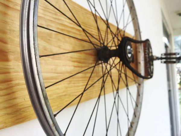 Bicycle Mode Of Transport No People Close-up Day ArtWork Artistic Outdoors Bike Bicycle Art Beautiful Modern Art Hipster DIY Do It Yourself