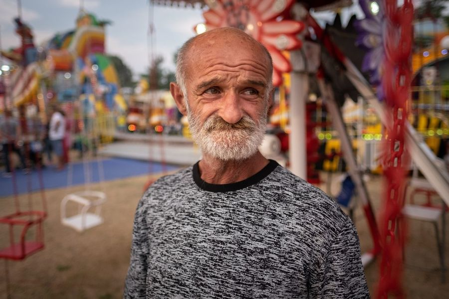 Šabac Fair 2018 Portrait One Person Front View Looking At Camera Focus On Foreground Headshot Real People Men Adult Casual Clothing Lifestyles Beard Males  Leisure Activity Facial Hair