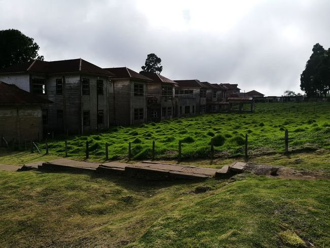 Architecture Green Color Sanatorio Durán  Built Structure Costa Rica
