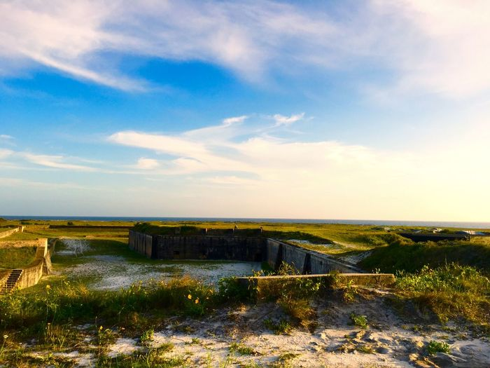 Fort pickens against sky