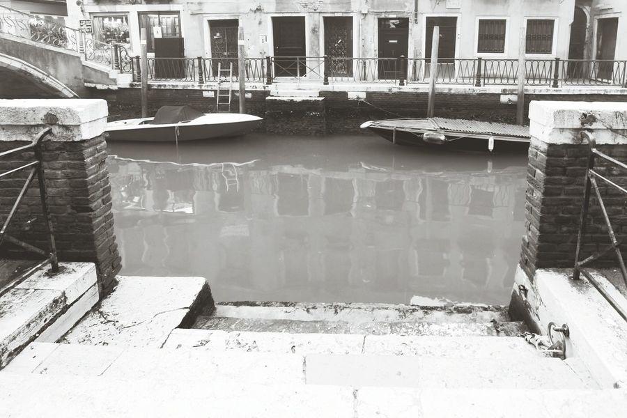 Venice's Canal Access Water No People Venezia