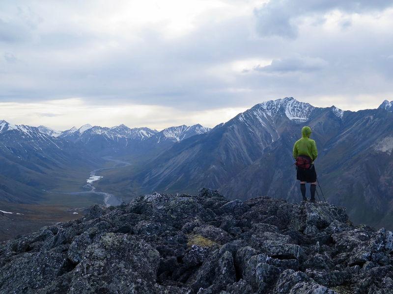 2015  Adventure Alaska Arctic Arctic National Wildlife Refuge Backpacking Hiker Hiking Landscape Mountain Mountain Range Mountains Nature Outdoors Remote