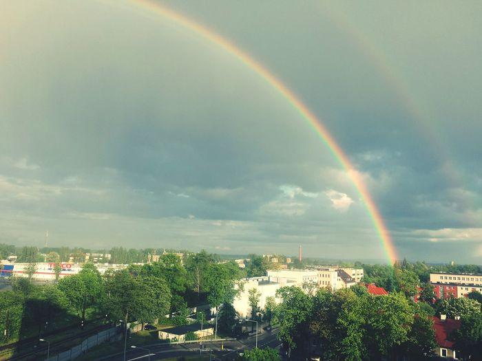 Tencza Piekna Biutifull Rainbow Colors Enjoying Life Rainbow