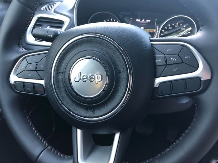 Jeep EyeEm Selects Mode Of Transportation Vehicle Interior Car Interior Motor Vehicle Car Transportation Land Vehicle Dashboard Steering Wheel Control Panel Close-up Indoors  Gearshift Travel Vehicle Part No People Control Speedometer Luxury