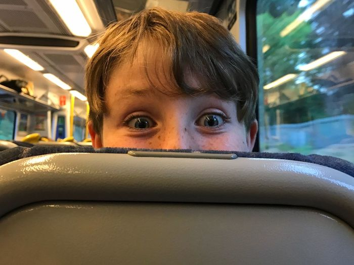 Let's Go. Together. Going Loco! Transportation Train - Vehicle Boy Cheeky Wide Eyes