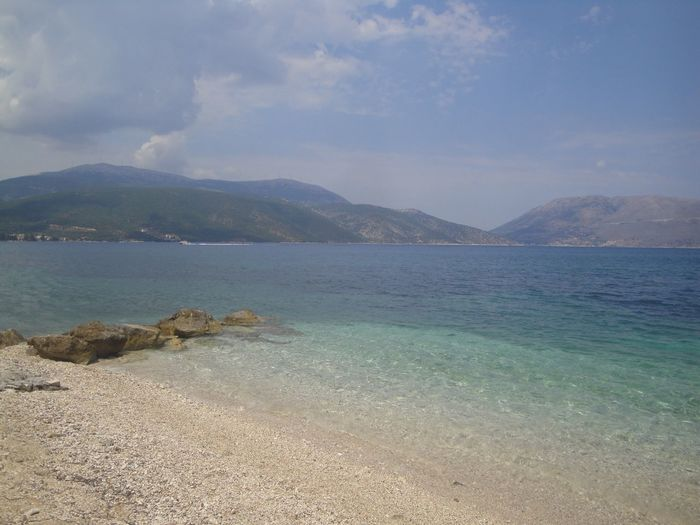 Sami Cefalonia Grecia 43GoldenMoments Femalephotographerofthemonth Beauty In Nature Beach Nature Outdoors Water Sky Clear Sky Sand Horizon Over Water Taking Photos Popular Photos Travel Destinations EyeEm Best Shots Travel Traveling Low Angle View Tranquility Scenics Sea No People