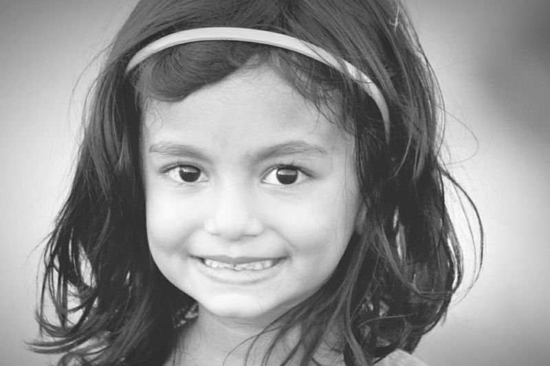 Youth Of Today Taking Photos Smiling Child Child Young Girl Smile❤ Smile ✌ Smile :) Smiling ^_^ Cheese Live While We're Young ✨ Keep Calm Keep Calm And Always Smile Keep Calm And Be Happy Happiness Blackandwhite Photography Innocence Potrait Headshot Front View Cute Beautiful Child Confidence  Happiness ♡ Simplicity