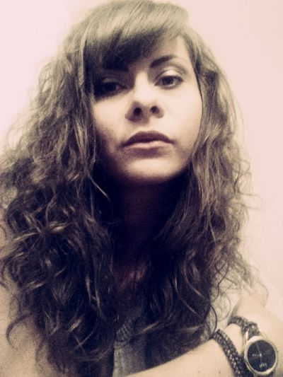 Brown Hair Curly Hair Girl Person Polishgirl Watch Young Women Myself Ugly Picture Foggy Picture