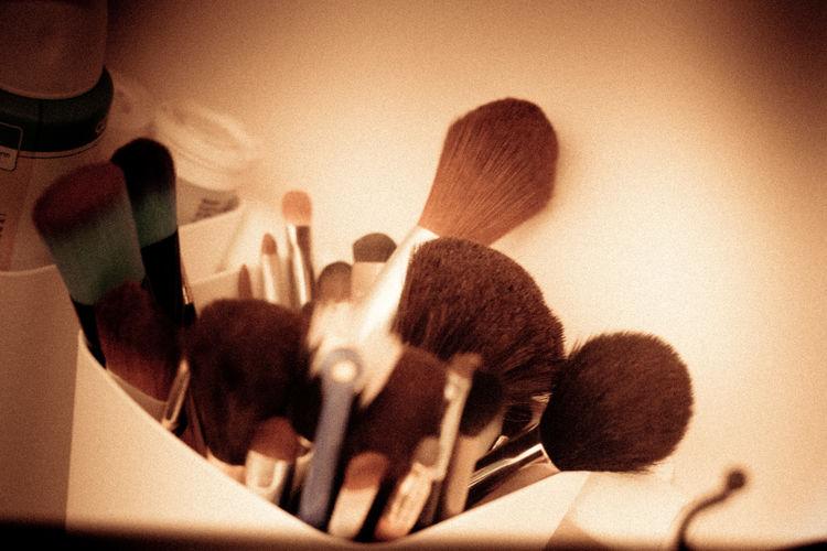 Beauty Close-up Hair And Makeup Indoors  Makeup MakeUp Brushes Makeup ♥ No People