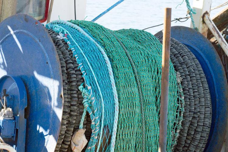 Fishing nets in Hanstholm Denmark Denmark Hanstholm Hanstholm Denmark Boat Denmark 🇩🇰 Fishing Fishing Net, Dragnet, Drift Net, Trawl, Meshwork, Webbing, Tulle, Fishnet, Openwork, Lace, Latticework. Snare, Catch Fishing Nets Net Overfishing