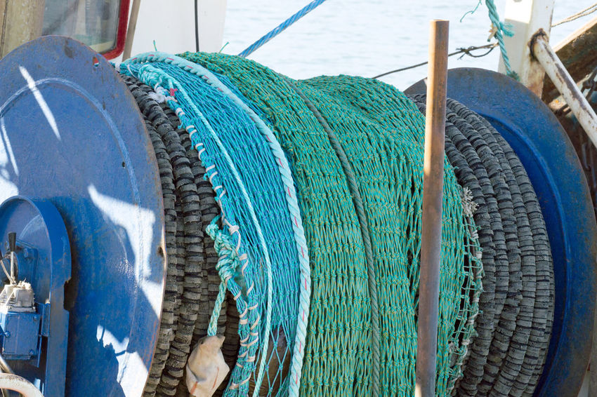 Fishing nets in Hanstholm Denmark Denmark Hanstholm Hanstholm Denmark Boat Denmark 🇩🇰 Fishing Fishing Net, Dragnet, Drift Net, Trawl, Meshwork, Webbing, Tulle, Fishnet, Openwork, Lace, Latticework. Snare, Catch Fishing Nets Net Overfishing