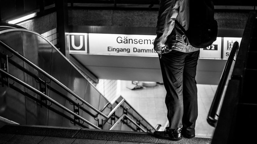 I'll be waiting 😚☺ Hanging Out Taking Photos Blackandwhite Streetphotography Streetphoto_bw City Hamburg Urban Monochrome Street EyeEm Best Shots - Black + White Eye4photography  EyeEm Best Shots People Watching Metro Ubahn Man Sony Nightphotography Night Nightlife Up Close Street Photography Telling Stories Differently The Street Photographer - 2016 EyeEm Awards Found On The Roll