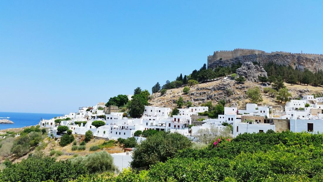 Mountain Landscape Outdoors Tourism Travel Destinations Architecture Summer Scenics Town Tree Nature Sunny Akropolis Old Town