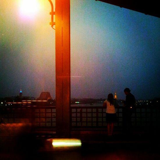 Say that u love me o the bridge....