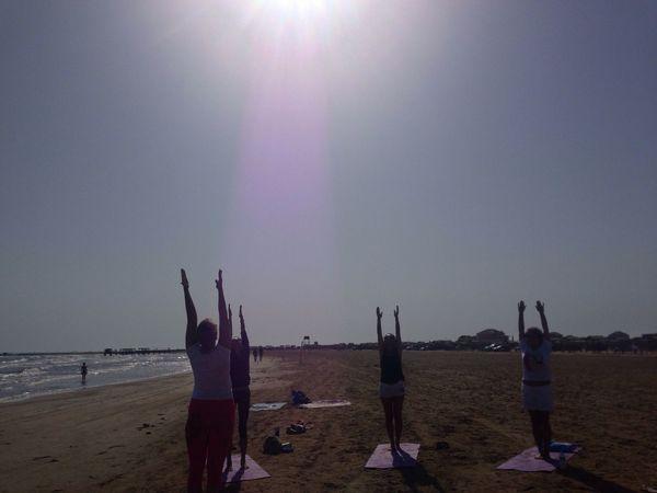 Yoga ॐ YogaShahi Beachyoga