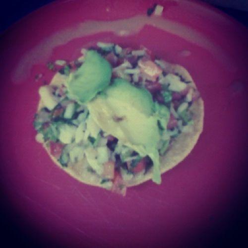 Tostada ! Ceviche ! ❤❤❤❤✌ ConMiMami ! LasAmo👌