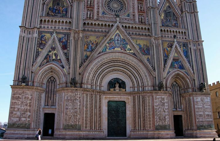 Orvieto, Italy Travel Travel Photography Traveling Arch Architecture Building Exterior Built Structure Day History Italian Italy No People Orvieto Outdoors Place Of Worship Religion Sky Spirituality Tourism Travel Destinations