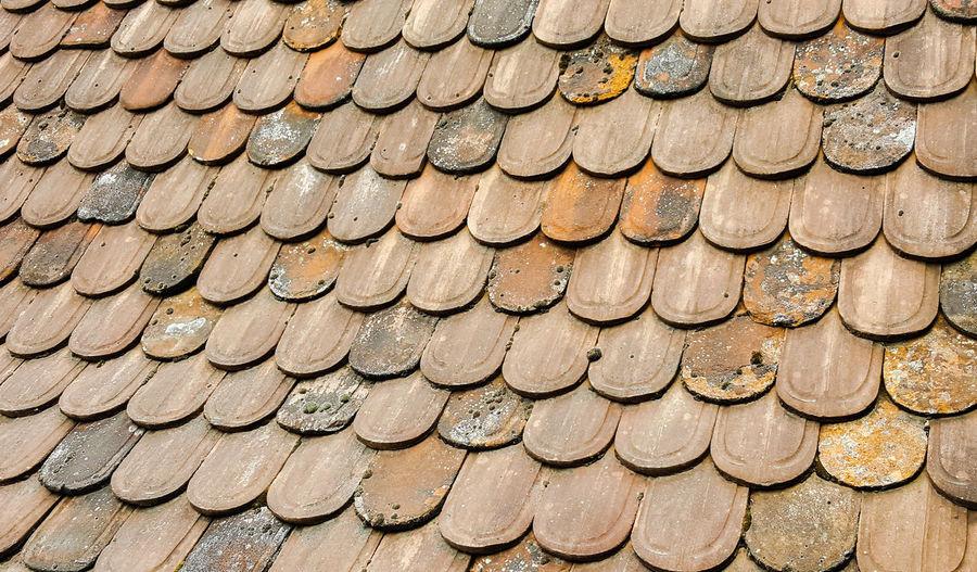 Full frame shot of rooftop