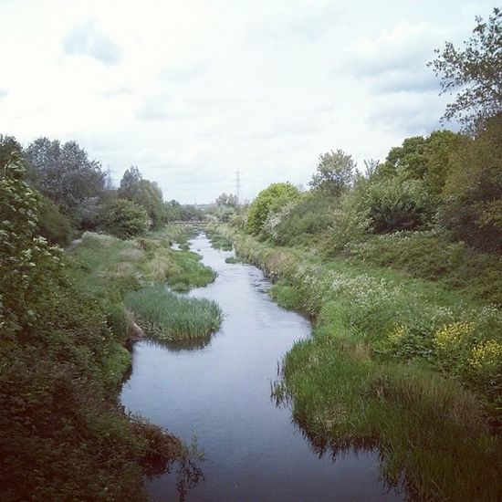 It's not much but it's home, and a tributary of the mighty Thames no less Eastlondon London River roding