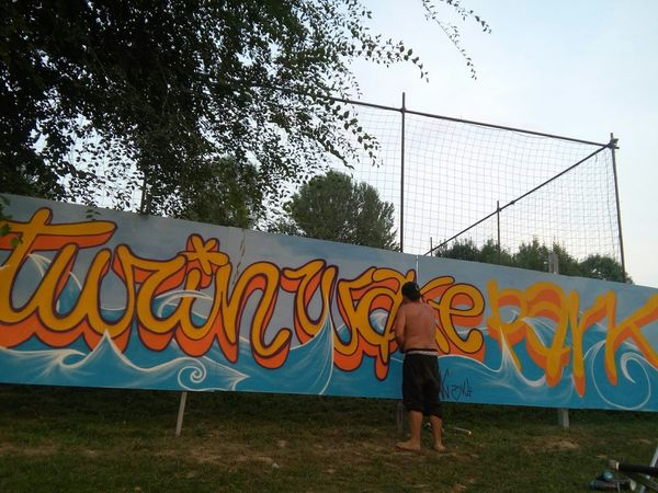 Wakepark Turinwakepark Writing Graffiti Art Streetart Montanacolors