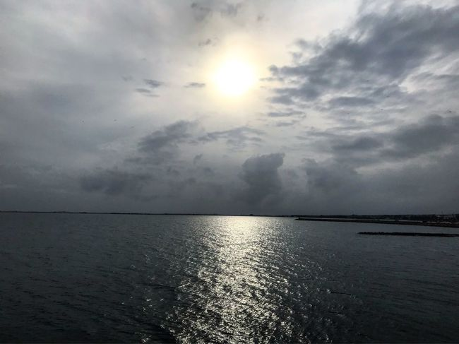 Sea Water Scenics Sky Tranquility Beauty In Nature Tranquil Scene Horizon Over Water Cloud - Sky Nature