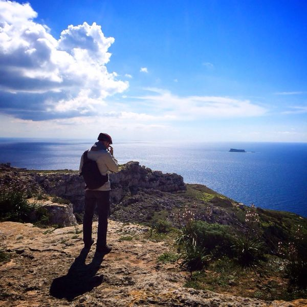 Breath-taking view from Dingli Cliffs NEM Landscapes NEM Submissions NEM Clouds AMPt - My Perspective