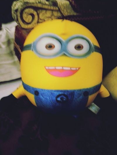 Minion pillow. :D