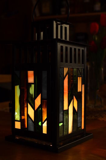 Stained Glass Candle Holder designed by me. Glass Art Home Home Sweet Home Stained Glass Interior Design Lamp Light And Shadow Tiffany Lamp