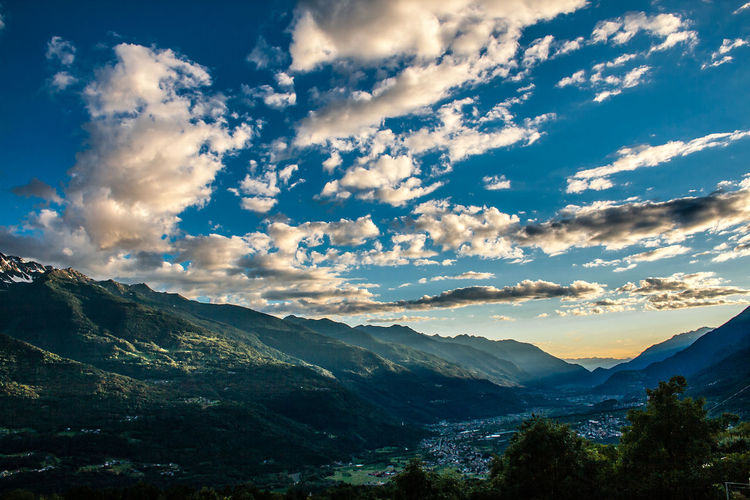 #campagna Beauty In Nature Cloud - Sky Day Landscape Mountain Nature No People Outdoors Scenics Sky Tranquil Scene Tranquility