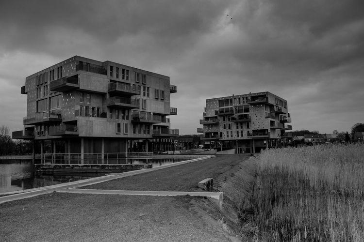 Architecture Building Exterior Built Structure Cloud Cloud - Sky Cloudy Manenwater Mechelenbelgium