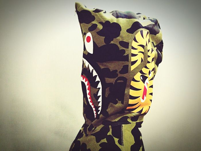 1st camo shark hoodie(녹계) bapBapesharkhoodieark Yuriya Jersteet First Eyeem Photo