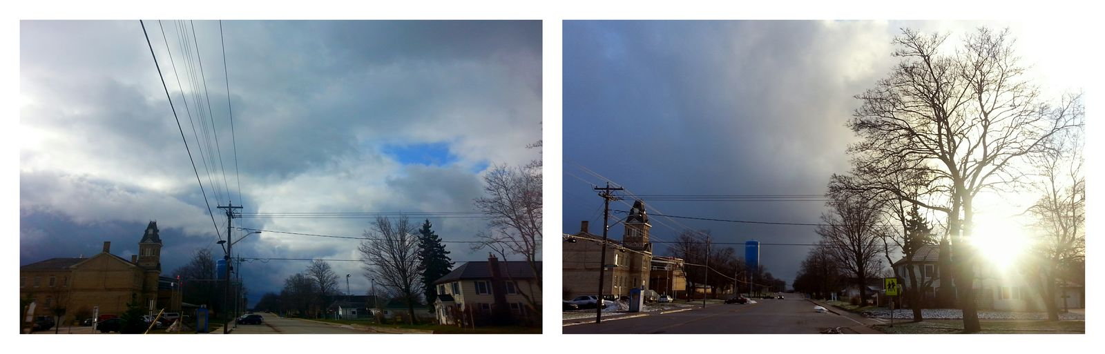 Before And After Grey To Sun TOWNSCAPE