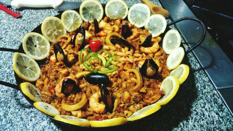 Food Ready-to-eat Paella! PaellaValenciana