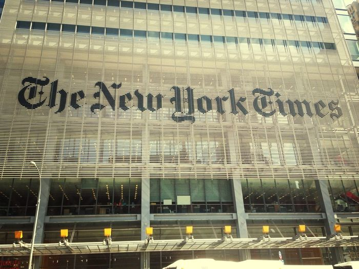 I need a job here :) The New York Times New York Manhattan Job Hunting