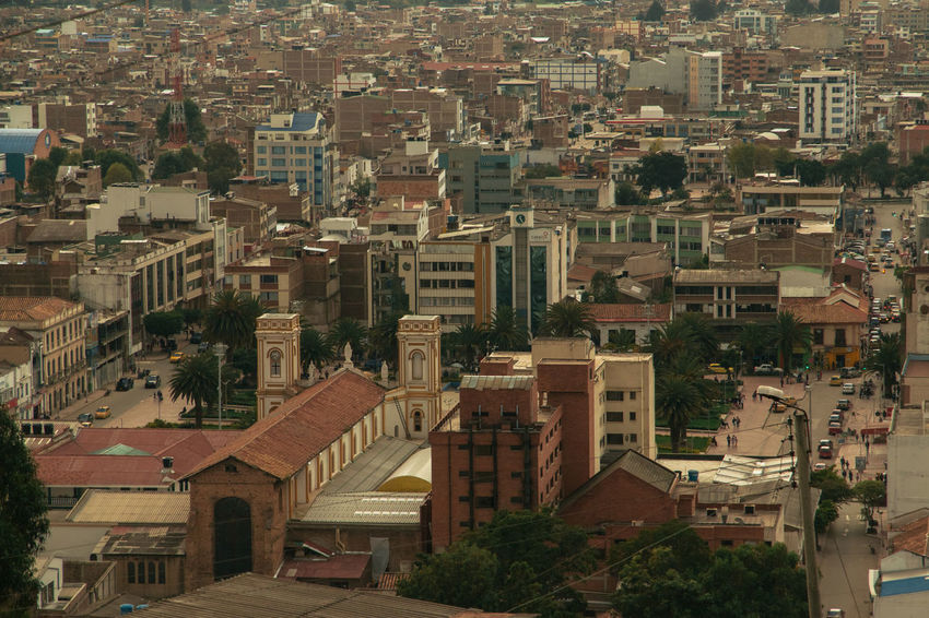 Cityscape Colombia Sogamoso_city Aftenoon Architecture Building Building Exterior Built Structure City City View  City View From Mountain Cityscape Colombia ♥  Crowded High Angle View Outdoors Residential District Sogamoso South America