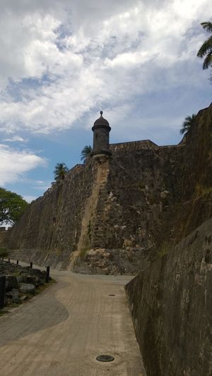Old San Juan Marvels Architecture Blue Sky Earth Colours Fort El Morro Fortress Guardpost Outdoors Sky Spanish Fort Stone Wall Watchtower